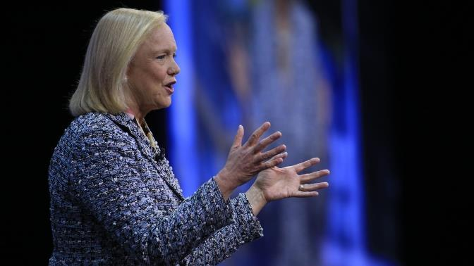 Meg Whitman HPE Discover London 2016